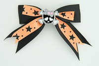 Bl-orange / cute skull bone black-pink Black-orange cute skull