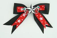 Bl-red / star cherry black-white black-red star