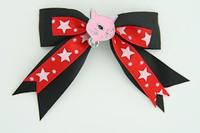 Bl-red / cat pink black-red animal
