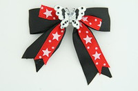 Bl-red / butterfly white black-red animal