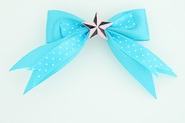 Dot blue / star black-pink blue star