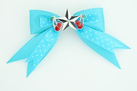 Dot blue / star cherry black-white blue star