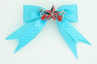 Dot blue / star cherry black-red blue star