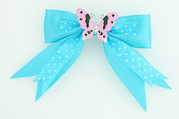 Dot blue / butterfly pink blue animal