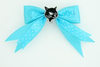 Dot blue / cat black blue animal