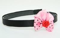 Flower red light pink bow & flower