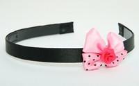 Flower D.pink light pink bow & flower