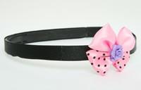 Flower purple light pink bow & flower