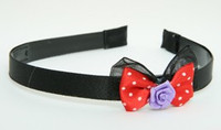 BR flower purple red bow & flower