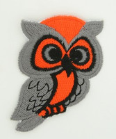 Owl grey-orange