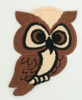 M owl brown animal big