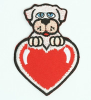 Heart dog animal