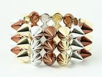 BR-G-S spiky studs bracelet