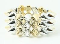 S-G spiky studs bracelet