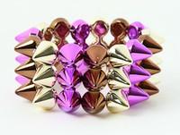 BR-G-P spiky studs bracelet