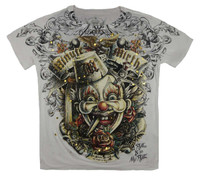 Front - MM clown white minute mirth