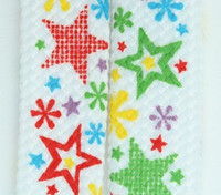 Star Flower White Star Shoelace