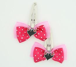 D.Pink / heart horn red dark pink sweet