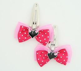 D.Pink / heart horn pink dark pink sweet