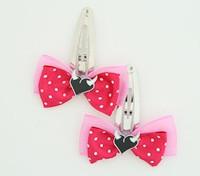 D.Pink / heart horn white dark pink sweet