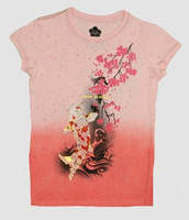 Carper tree pink oriental t-shirt