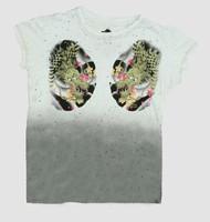Dragon white oriental