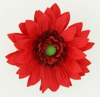 M daisy red medium flower