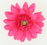 M daisy D pink medium flower