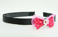 D Pink / cake dark pink bow & sweet