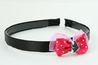 D.Pink / heart horn white dark pink bow & sweet