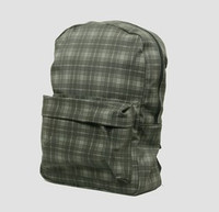 Scotch grey check rucksack