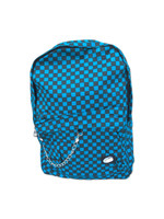 Check M blue check rucksack