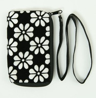 Flower white mobile bag