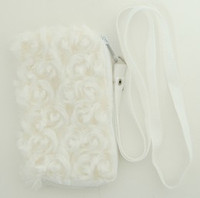 Plain white mobile bag