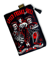 Speed freaks hell liquorBrand cosmetic bag