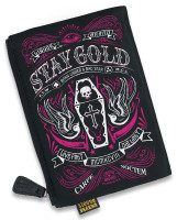 Stay gold liquorbrand cosmetic bag