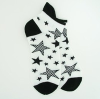 Stars white socks accessory