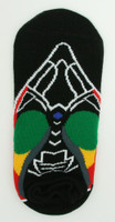 M rasta socks accessory