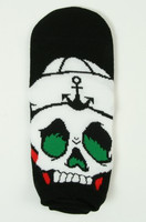 M skull anchor socks accessory