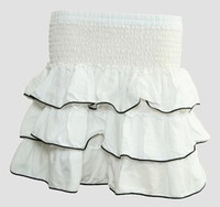 Mini skirt sailor white plain sailor mini skirt
