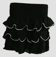 Mini skirt sailor black plain sailor mini skirt