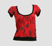Front - OIB diva red top diva top