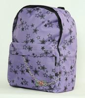Star purple stars rucksack