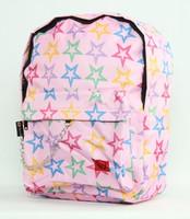 Stars L.pink stars rucksack