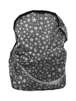 Stars black-grey stars rucksack