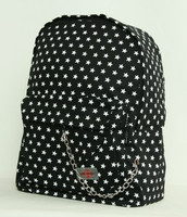Star basic black stars rucksack