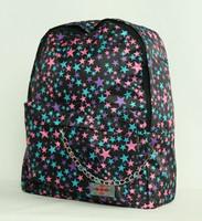 Stars purple-pink-blue stars rucksack