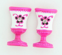 C cup colorful stud
