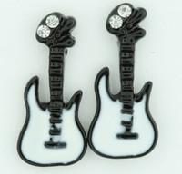 C guitar black colorful stud