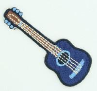 S guitar blue medium patch